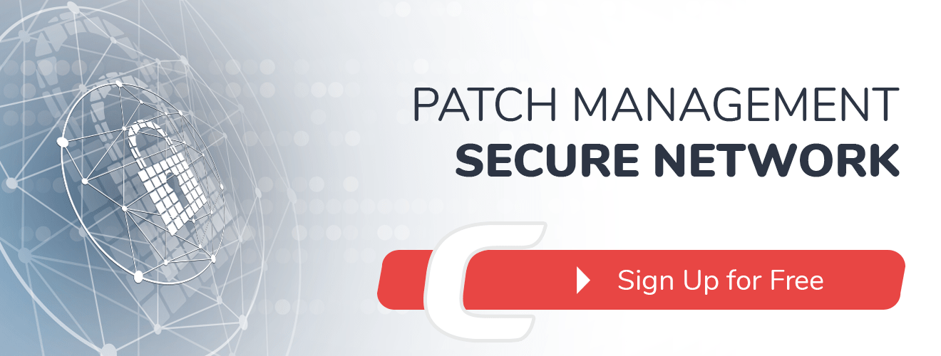 Patch management secure network